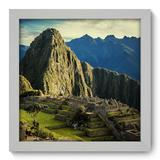 Quadro Decorativo - Machu Picchu - 22cm x 22cm - 090qnmab - Allodi