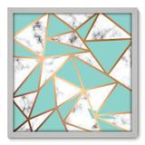 Quadro Decorativo - Mármore - 50cm x 50cm - 155qnacb - Allodi