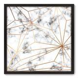 Quadro Decorativo - Mármore - 70cm x 70cm - 101qnadp - Allodi