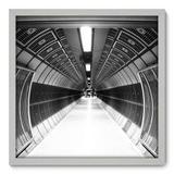 Quadro Decorativo - Metrô - 50cm x 50cm - 044qndcb - Allodi