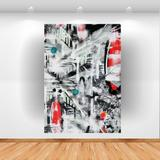 Quadro Decorativo Modern Art 100x70cm Vertical Click brands