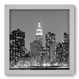Quadro Decorativo - New York - 22cm x 22cm - 043qnmab - Allodi