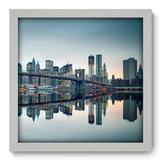 Quadro Decorativo - New York - 33cm x 33cm - 079qnmbb - Allodi