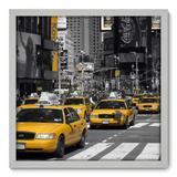 Quadro Decorativo - New York - 50cm x 50cm - 065qnmcb - Allodi