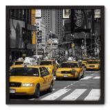 Quadro Decorativo - New York - 70cm x 70cm - 065qnmdp - Allodi