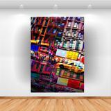 Quadro Decorativo New York City 70x50cm Vertical Click Brands