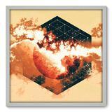 Quadro Decorativo - Nuvem - 70cm x 70cm - 034qnadb - Allodi