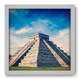 Quadro Decorativo - Pirâmide - 33cm x 33cm - 031qnmbb - Allodi