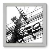 Quadro Decorativo - Poste - 22cm x 22cm - 029qnuab - Allodi