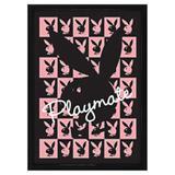 Quadro Decorativo Poster 3D Coelhinhas da Playboy Playmate 50x70cm - Decore pronto
