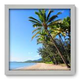 Quadro Decorativo - Praia - 33cm x 33cm - 105qnpbb - Allodi