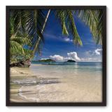 Quadro Decorativo - Praia - 70cm x 70cm - 104qnpdp - Allodi