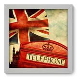 Quadro Decorativo - Reino Unido - 22cm x 22cm - 053qnmab - Allodi
