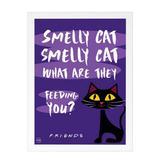 Quadro Decorativo Smelly Cat  Friends 24x33cm - Cantaki