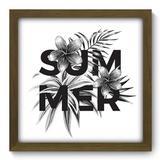 Quadro Decorativo - Summer - 33cm x 33cm - 417qddm - Allodi
