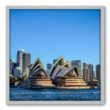 Quadro Decorativo - Sydney - 70cm x 70cm - 059qnmdb - Allodi