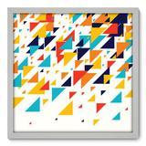 Quadro Decorativo - Triângulos - 50cm x 50cm - 097qnacb - Allodi