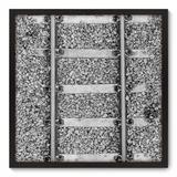Quadro Decorativo - Trilho - 70cm x 70cm - 027qnddp - Allodi