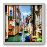 Quadro Decorativo - Veneza - 33cm x 33cm - 062qnmbb - Allodi