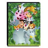 Quadro Infantil Animais Canvas 40x30cm-INF277 - Lubrano decor
