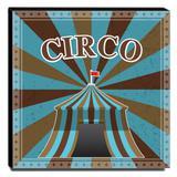 Quadro Infantil Circo Canvas 30x30cm-INF363 - Lubrano decor