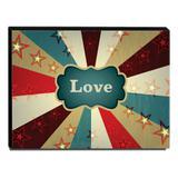 Quadro Infantil Circo Love Canvas 30x40cm-INF368 - Lubrano decor