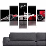 Quadro Mclaren Ayrton Senna Decoração Interiores - Quadros mais