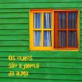 Quadro Os olhos são a janela da alma por Vicky Fernandez - Cuadrado