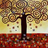 Quadro Outono por Kezia Talisin - Cuadrado