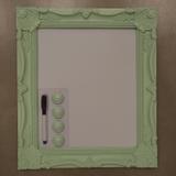 Quadro P/ Recado Verde 40X35 Cm - Amigold