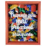 Quadro Porta Dinheiro Moedas Cofre Infantil Criança Ref 823 - Art frame
