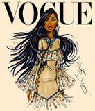 Quadro Princesas Vogue 40 x 60 cm - Soluza