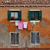 Quadro Quatro janelas por Vicky Fernandez - Cuadrado
