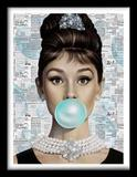 Quadros Marilyn Monroe E Audrey Hepburn - Stickerboom