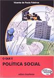 Que E Politica Social, O - Primeiros Passos / Faleiros - Brasiliense