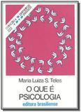Que e psicologia, o - vol.222 - colecao primeiros - Brasiliense