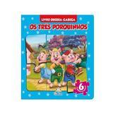 Quebra-cabeça Os três Porquinhos - Blu Editora