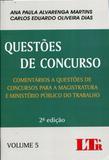 Questões de Concurso - Volume 5 - Ltr