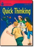 Quick thinking - level 3.4 - Cengage elt