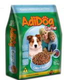 Ração Adidog Sabor Carne para Cães Filhotes 15kg - Adimax