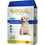 Ração Adimax Pet Formula Natural para Cães Filhotes de Raças Média e Grande - Formula natural adimax pet