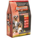 Ração Adimax Pet Magnus Super Premium Carne com Arroz para Cães Adultos - Magnus, adimax pet