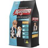 Ração Adimax Pet Magnus Super Premium Frango e Arroz Cães Filhotes - Magnus, adimax pet