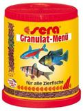 Ração Alimento Peixes Aquario Sera Menu Granulat Mix 66gr