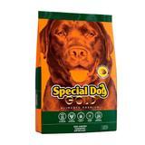 Ração Cães Adultos Special Dog Gold Premium Sabor Carne 10.1Kg
