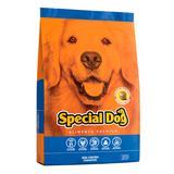 Ração Cães Adultos Special Dog Premium Sabor Carne 15Kg