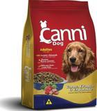 Ração Canni Dog Adultos Carne, Frango  Espinafre 22kg - Cani dog