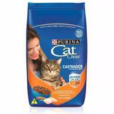Ração Cat Chow Castrados para Gatos Adultos- 10 Kg - Purina