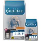 Ração Dog Excellence Raça Médias Filhotes Frango/arroz 15kg