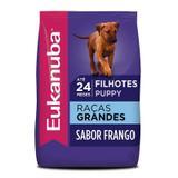 Ração Eukanuba Puppy Large Breed Para Cães Filhotes de Raças Grandes- 12 Kg